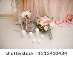 wedding decorations and... | Shutterstock . vector #1212410434