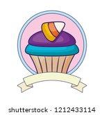 sweet cupcake design | Shutterstock .eps vector #1212433114