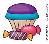 sweet cupcake design | Shutterstock .eps vector #1212433141