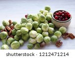 ingredients for traditional... | Shutterstock . vector #1212471214