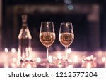 romantic date night setting.... | Shutterstock . vector #1212577204