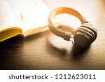 vintage color of vintage... | Shutterstock . vector #1212623011