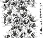 abstract elegance seamless... | Shutterstock . vector #1212698197