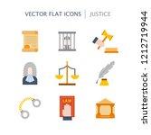 vector illustration with... | Shutterstock .eps vector #1212719944