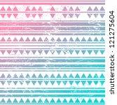 vintage tribal pattern | Shutterstock .eps vector #121275604