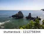 beautiful nature sea landscape. ...   Shutterstock . vector #1212758344