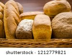 Bread Of Different Shapes In...