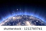 asian telecommunication network ... | Shutterstock . vector #1212785761