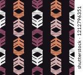 ethnic boho seamless pattern....   Shutterstock .eps vector #1212796351