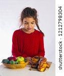 fruit or buns | Shutterstock . vector #1212798304
