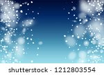 falling snow background. winter ... | Shutterstock .eps vector #1212803554