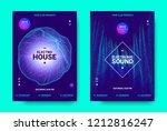 electronic music movement... | Shutterstock .eps vector #1212816247