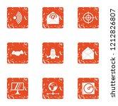 vital information icons set.... | Shutterstock .eps vector #1212826807