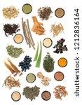 adaptogen food selection with... | Shutterstock . vector #1212836164