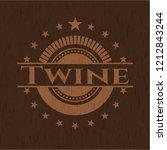 twine wooden signboards   Shutterstock .eps vector #1212843244