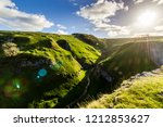 peak district valleys with a... | Shutterstock . vector #1212853627
