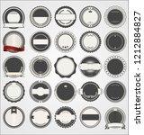 empty retro vintage badge... | Shutterstock .eps vector #1212884827