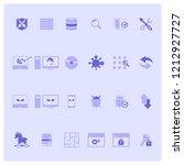 modern flat icons set of cyber...   Shutterstock .eps vector #1212927727