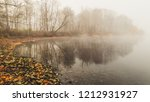 late autumn view of the river ... | Shutterstock . vector #1212931927