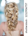 hairstyle rear view | Shutterstock . vector #1212936757