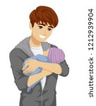 illustration of a young teenage ... | Shutterstock .eps vector #1212939904