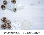 christmas and new year's... | Shutterstock . vector #1212983824