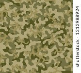 seamless camouflage pattern....   Shutterstock .eps vector #1212988924