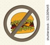 burger prohibited over beige...