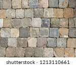 cobble stone background top... | Shutterstock . vector #1213110661