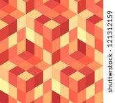 seamless mosaic background. | Shutterstock .eps vector #121312159