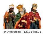 the three wise men and baby... | Shutterstock . vector #1213145671