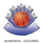 basketball design emblem award...