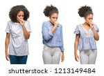 collage of african american... | Shutterstock . vector #1213149484