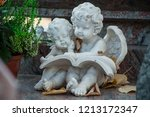 Closeup Of Two Stoned Angels O...