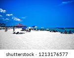 shades of blues | Shutterstock . vector #1213176577