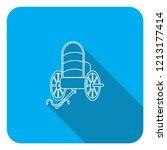 caravan carriot carriage  wagon ... | Shutterstock .eps vector #1213177414