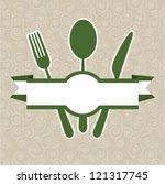 Green Vintage Retro Restaurant...