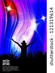 discoteque. vector illustration   Shutterstock .eps vector #121319614