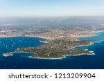 cap d'antibes coastline along...   Shutterstock . vector #1213209904