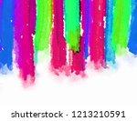 the brush stroke graphic... | Shutterstock . vector #1213210591