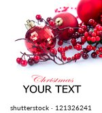 christmas. christmas and new... | Shutterstock . vector #121326241