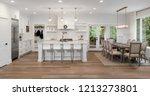 beautiful panorama of white... | Shutterstock . vector #1213273801