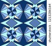 geometric ornament  seamless...   Shutterstock .eps vector #1213286164
