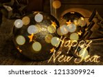 christmas decoration for the... | Shutterstock . vector #1213309924