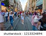 istanbul  turkey   agust  11 ... | Shutterstock . vector #1213324894