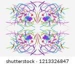 fractal art. abstract... | Shutterstock . vector #1213326847