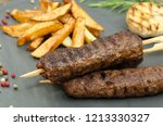 Turkish Kebab With French Frie...