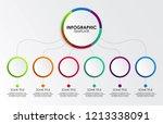infographic design  vector ... | Shutterstock .eps vector #1213338091