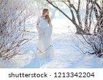 outdoor portrait of young... | Shutterstock . vector #1213342204