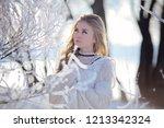 outdoor closeup portrait of... | Shutterstock . vector #1213342324